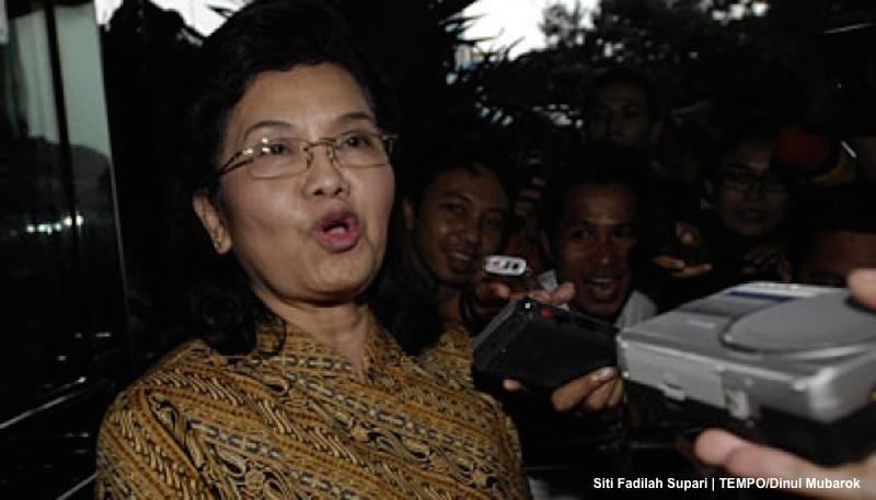 Siti Fadilah Supari | TEMPO:Dinul Mubarok